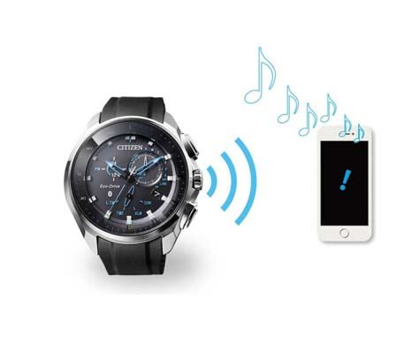 Radiocontrollato Bluetooth Watch